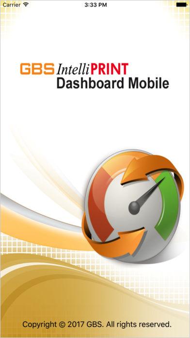 IntelliPRINT Dashboard Mobile Report
